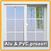 Aluminijumski i PVC prozori